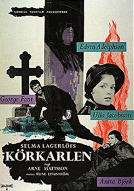 The Phantom Carriage (1958 film) movie poster