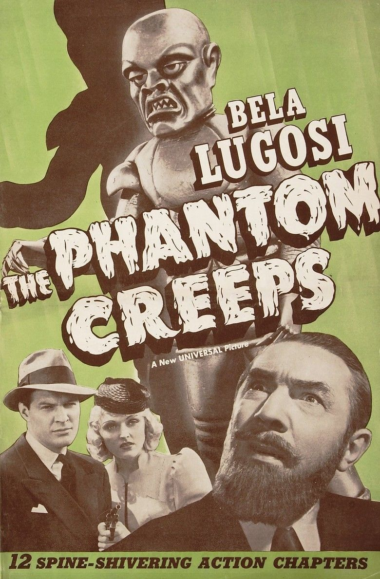 The Phantom Creeps movie poster