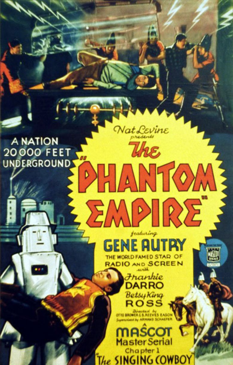 The Phantom Empire movie poster
