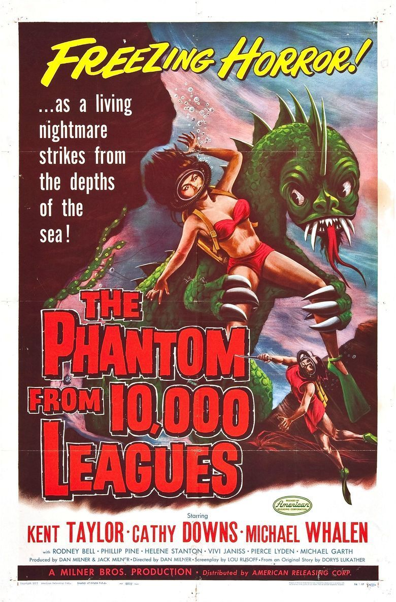The Phantom from 10,000 Leagues movie poster