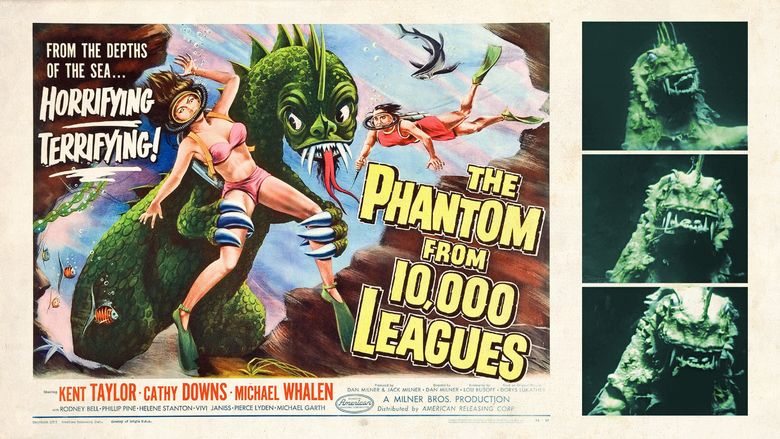 The Phantom from 10,000 Leagues movie scenes