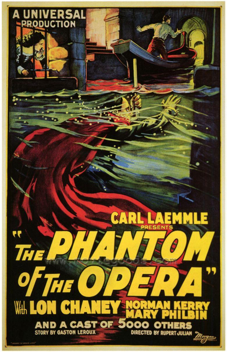 FILM MOVIE PARIS SKULL LAEMMLE PHANTOM OPERA Poster Film Canvas art Prints