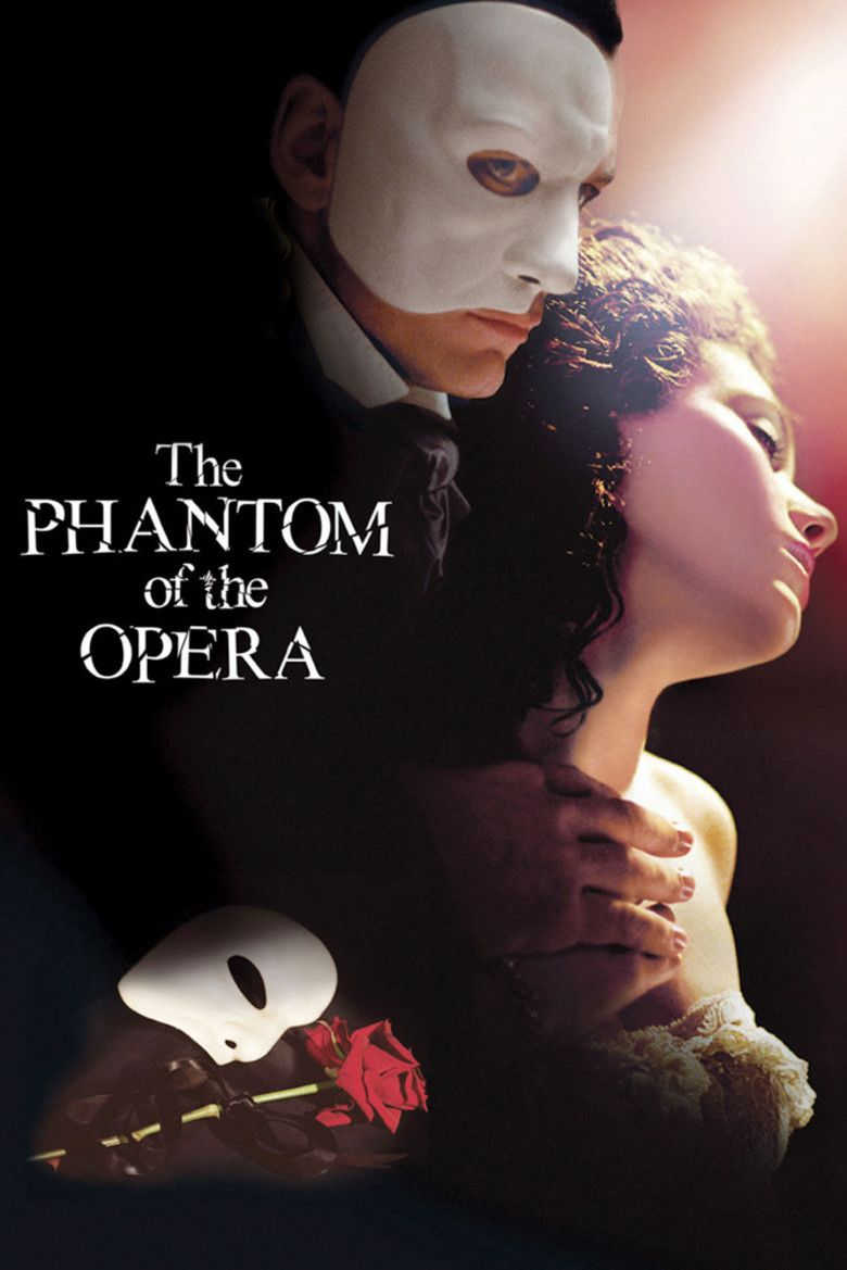 The Phantom of the Opera (2004 film) movie poster