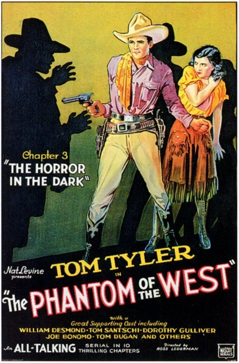 The Phantom of the West movie poster