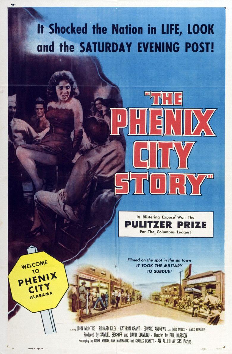 The Phenix City Story movie poster