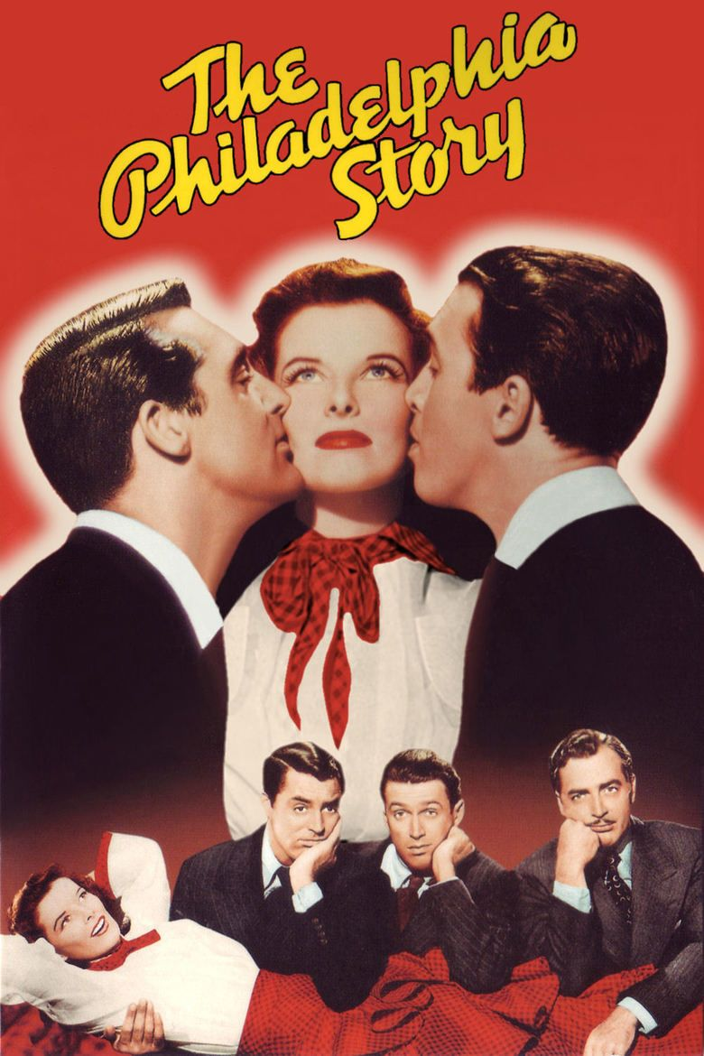 The Philadelphia Story (film) movie poster