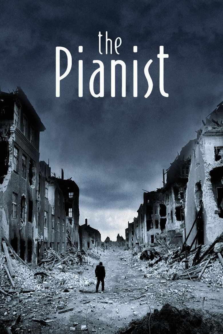 The Pianist (2002 film) movie poster