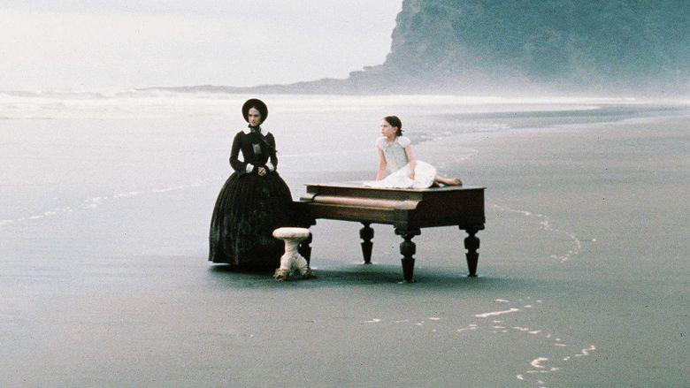 The Piano movie scenes