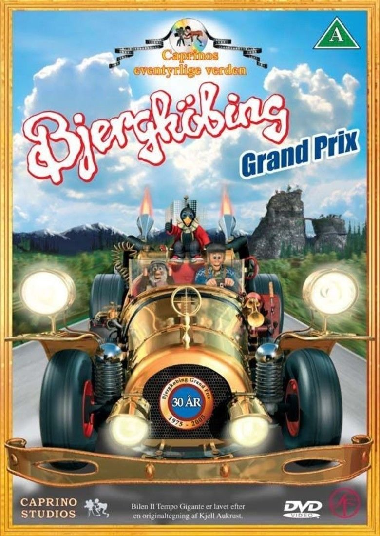 The Pinchcliffe Grand Prix movie poster
