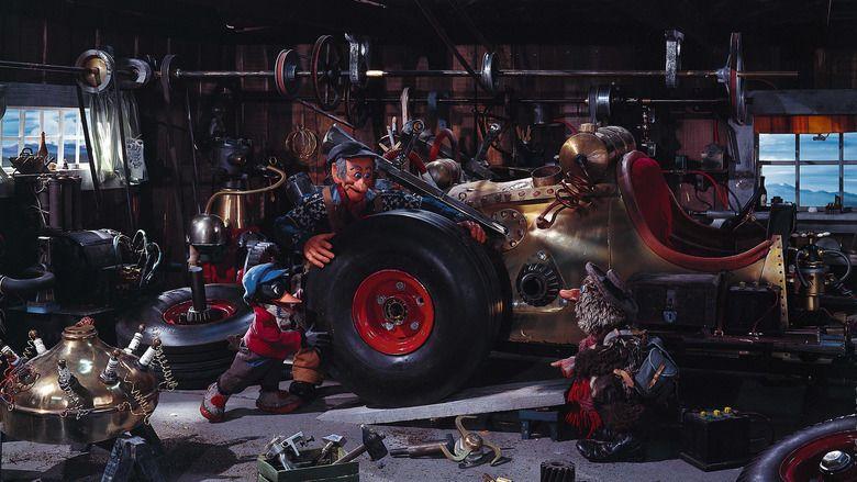 The Pinchcliffe Grand Prix movie scenes