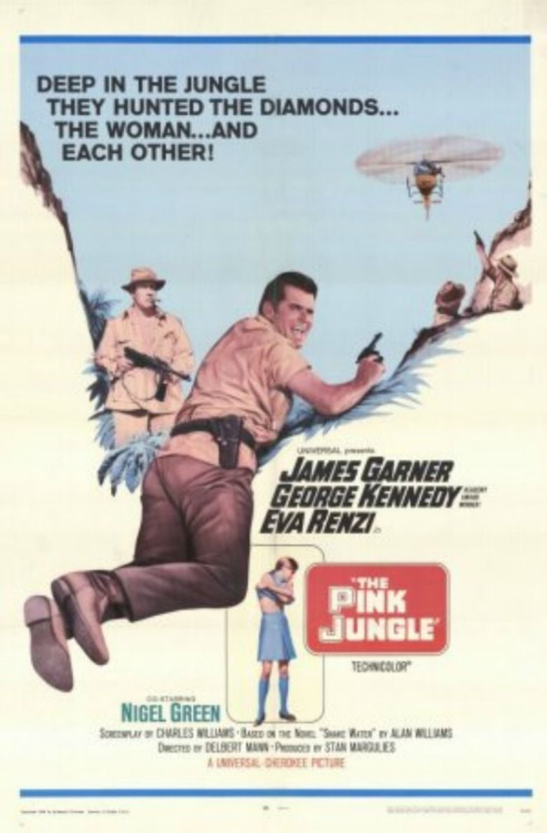The Pink Jungle movie poster