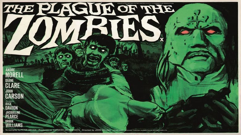 The Plague of the Zombies movie scenes