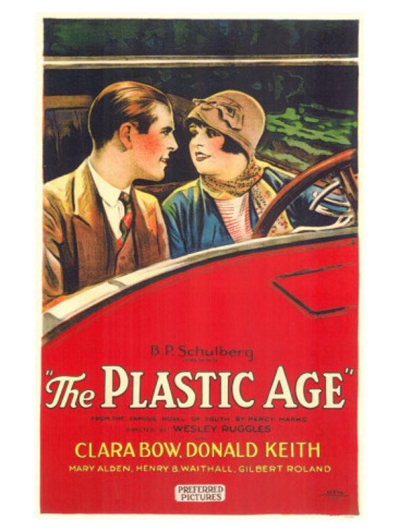 The Plastic Age (film) movie poster