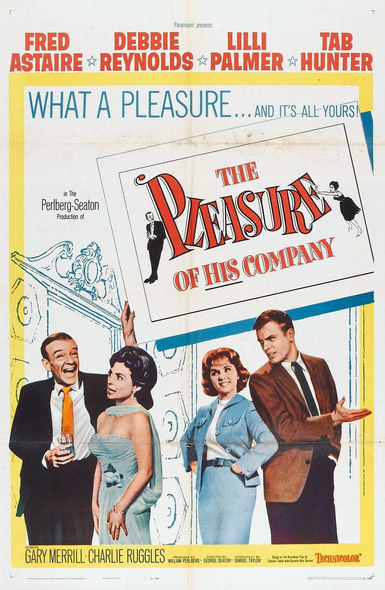 The Pleasure of His Company movie poster
