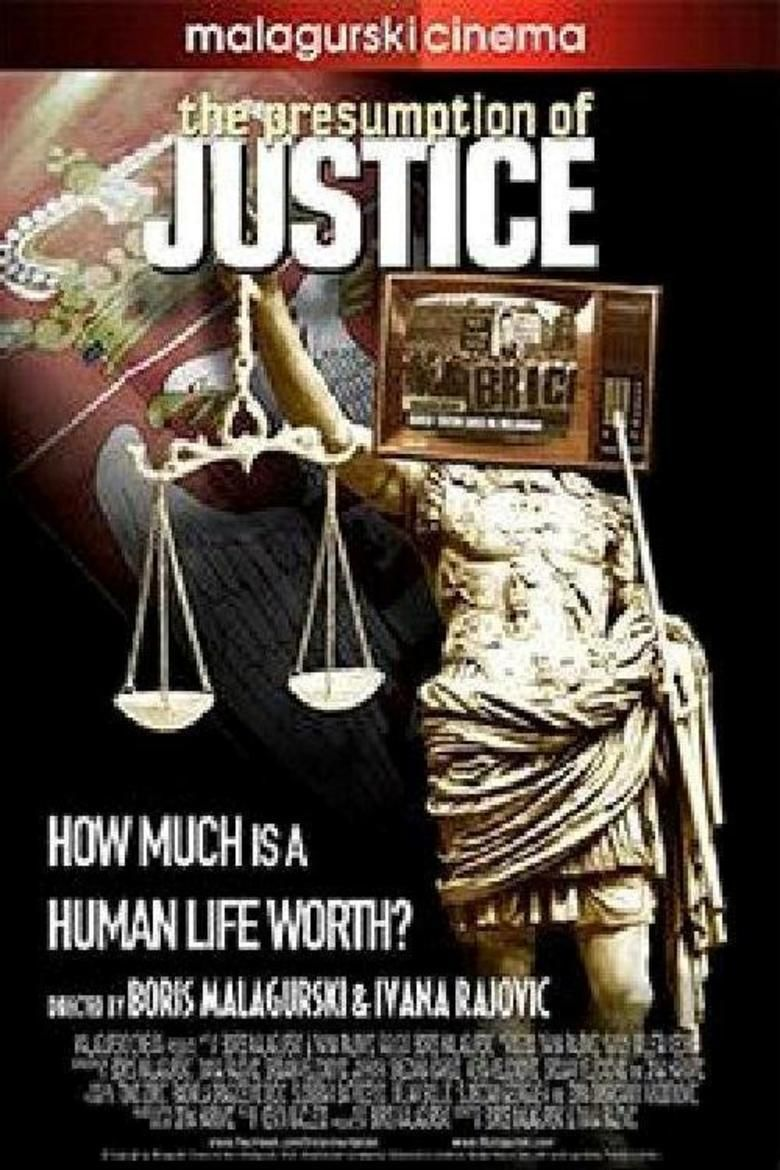 The Presumption of Justice movie poster