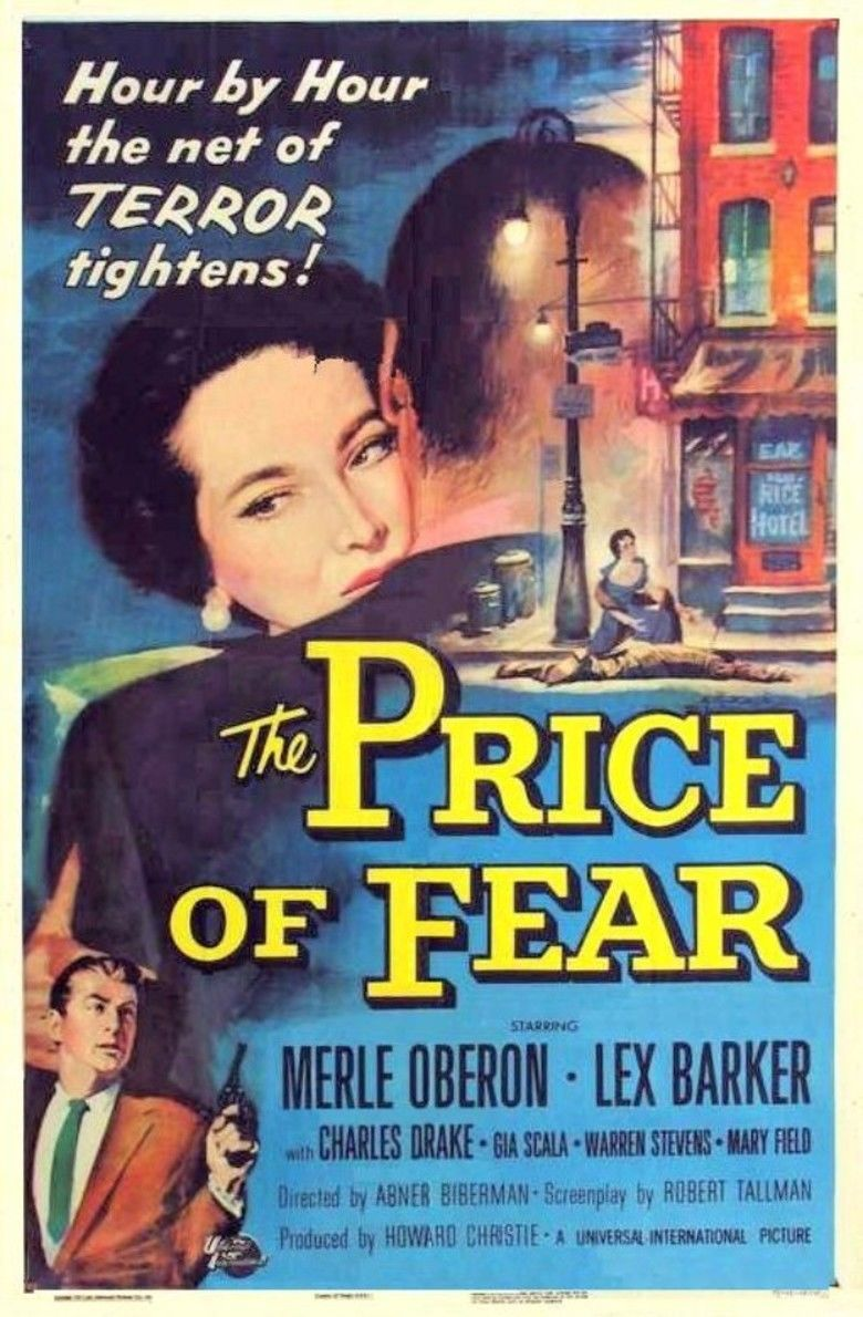 The Price of Fear (1956 film) movie poster