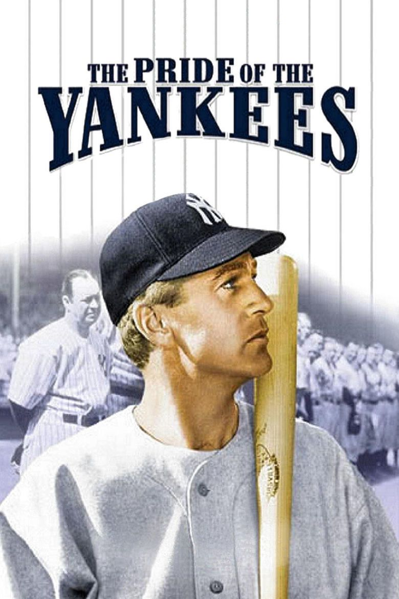 The Pride of the Yankees movie poster