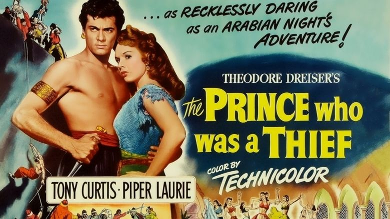 The Prince Who Was a Thief movie scenes