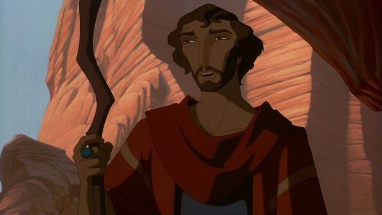 The Prince of Egypt movie scenes