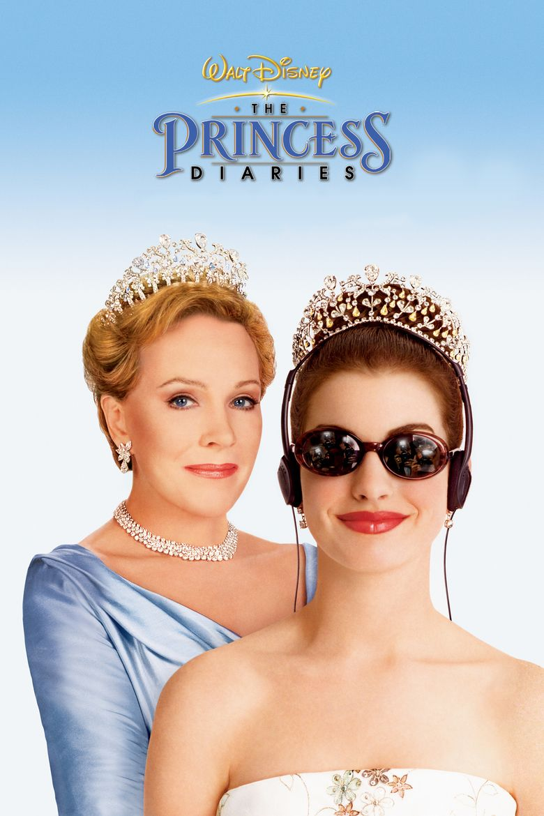 The Princess Diaries (film) movie poster
