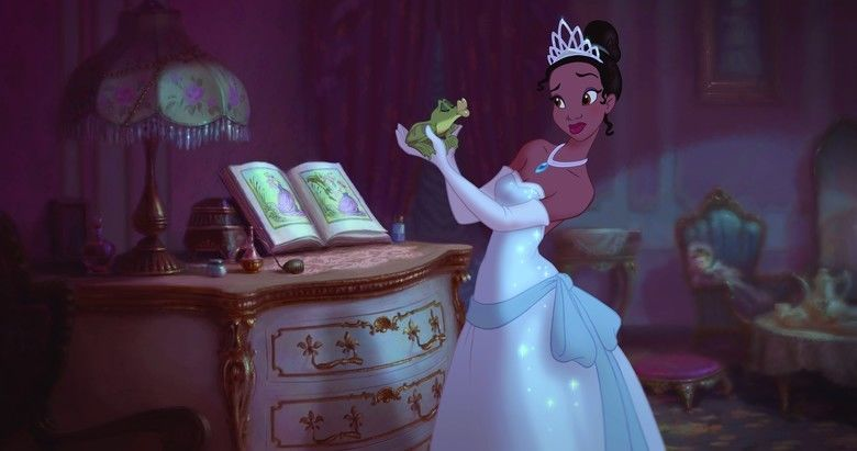 The Princess and the Frog movie scenes