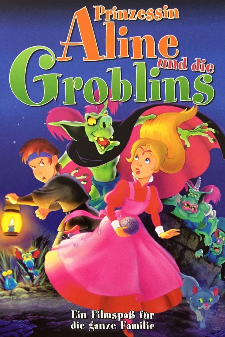 The Princess And Goblin Film Movie Poster