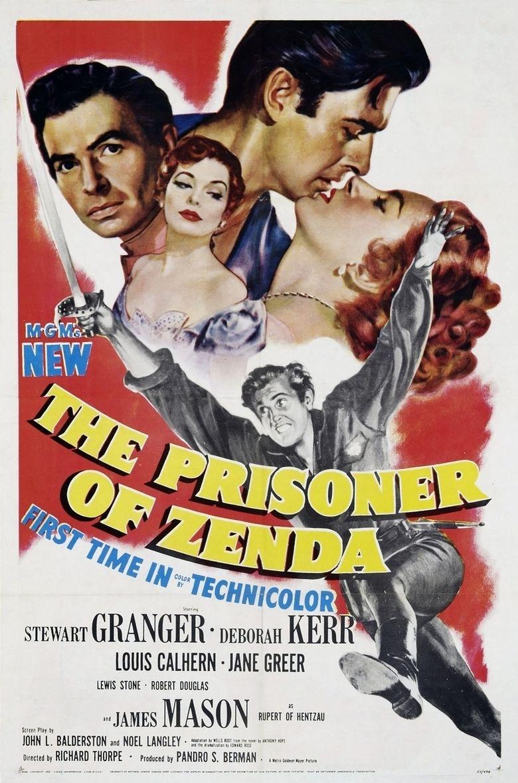 The Prisoner of Zenda (1952 film) movie poster