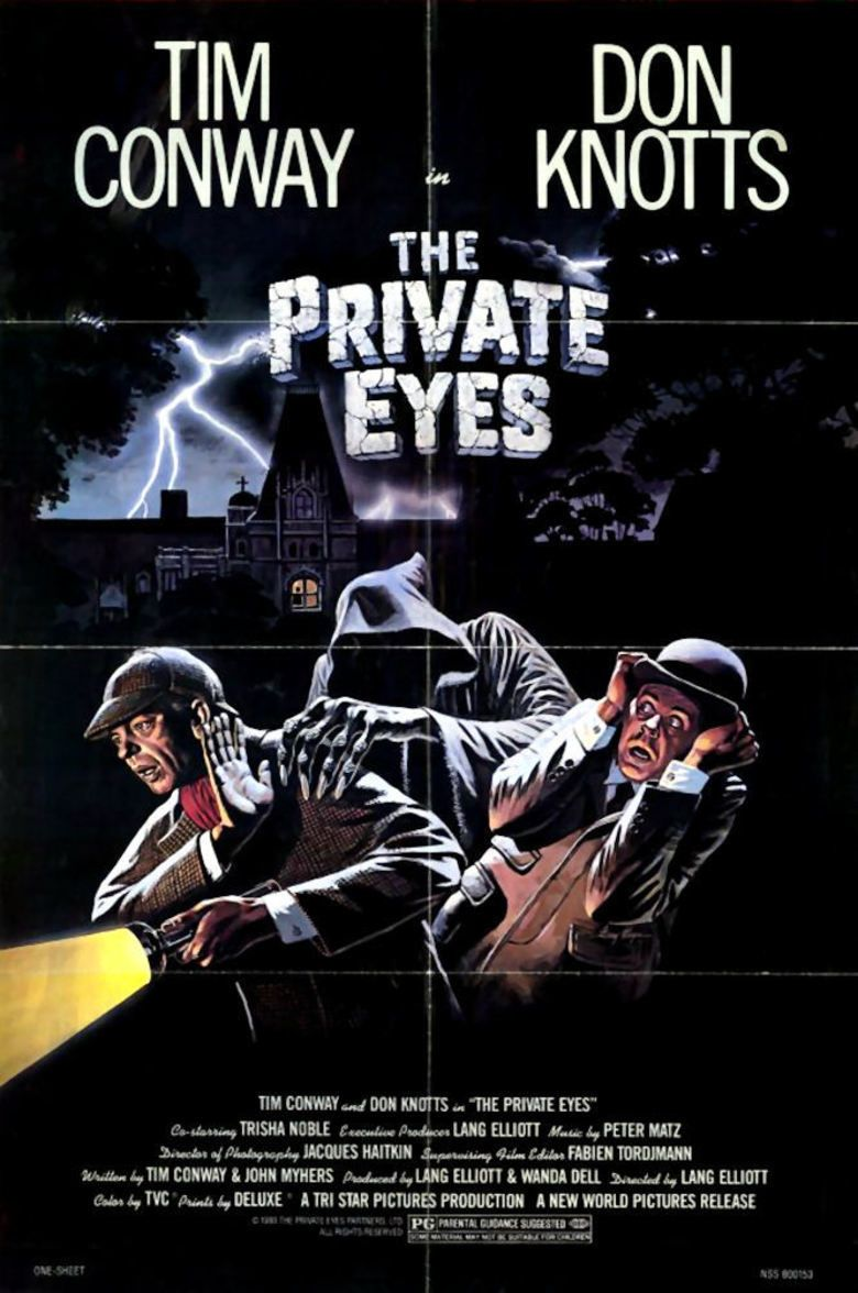 The Private Eyes (1980 film) movie poster