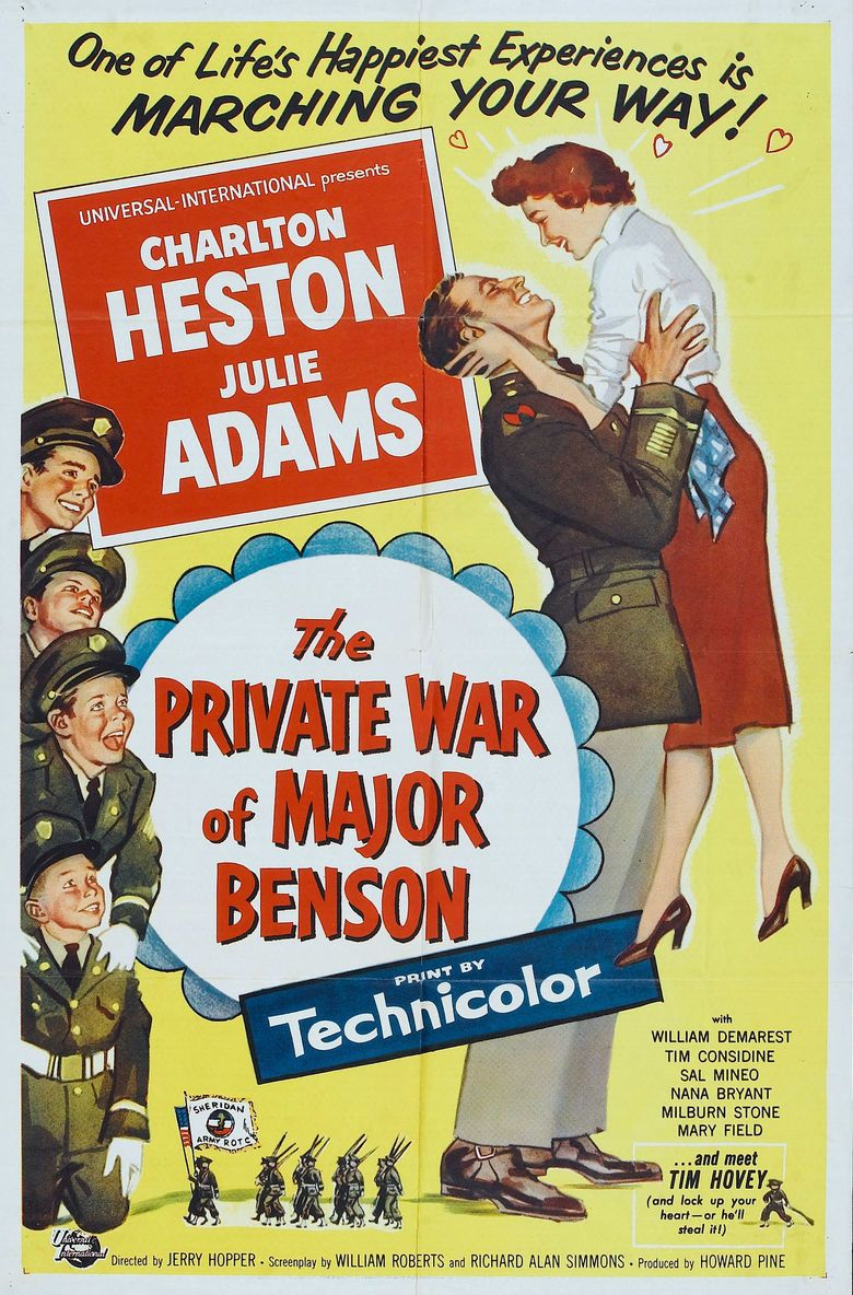 The Private War of Major Benson movie poster