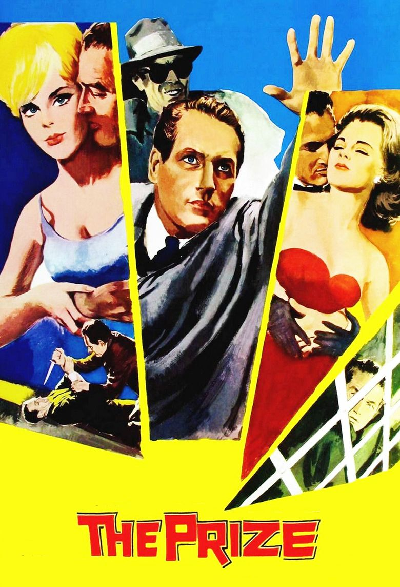 The Prize (1963 film) movie poster