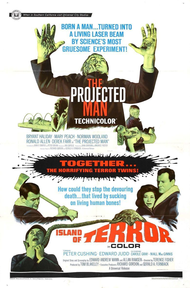 The Projected Man movie poster