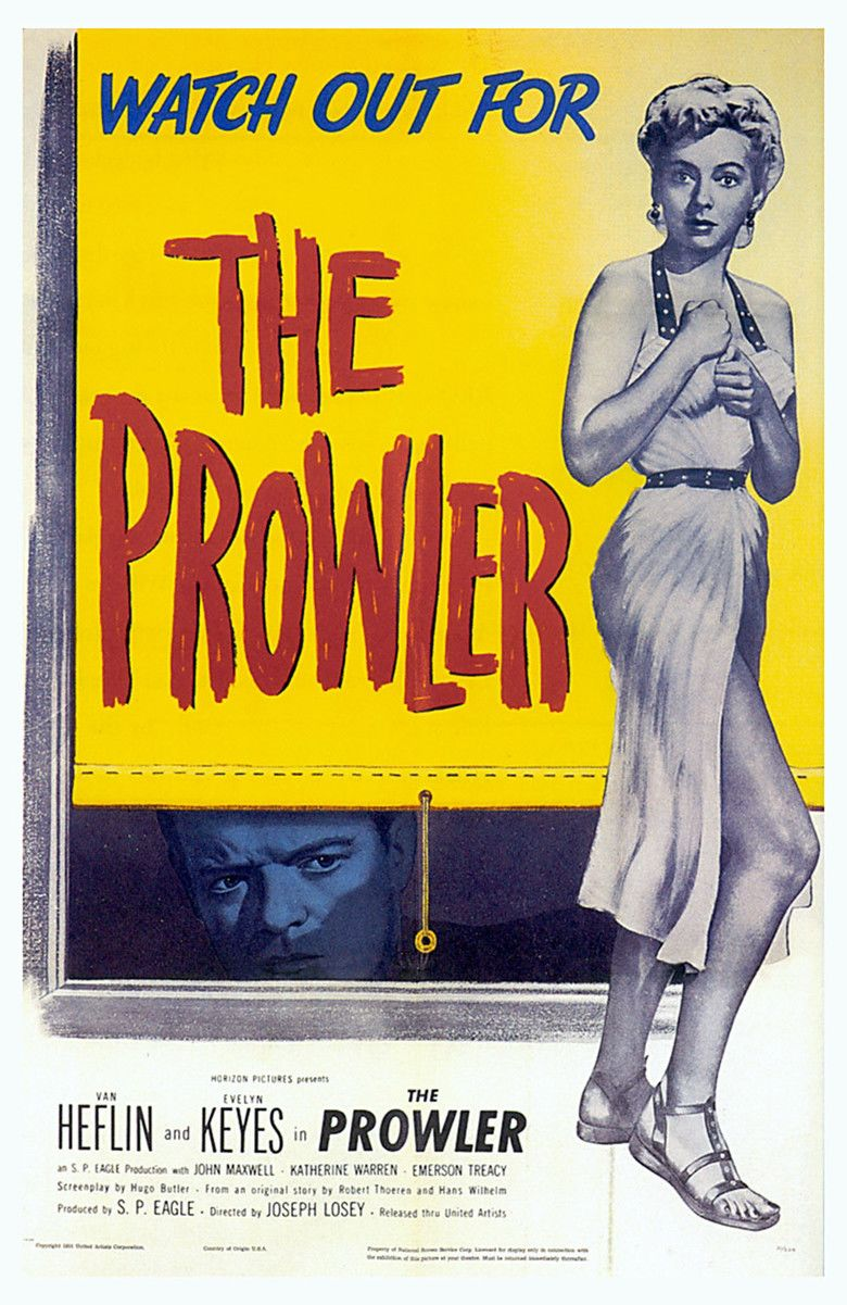 The Prowler (1951 film) movie poster