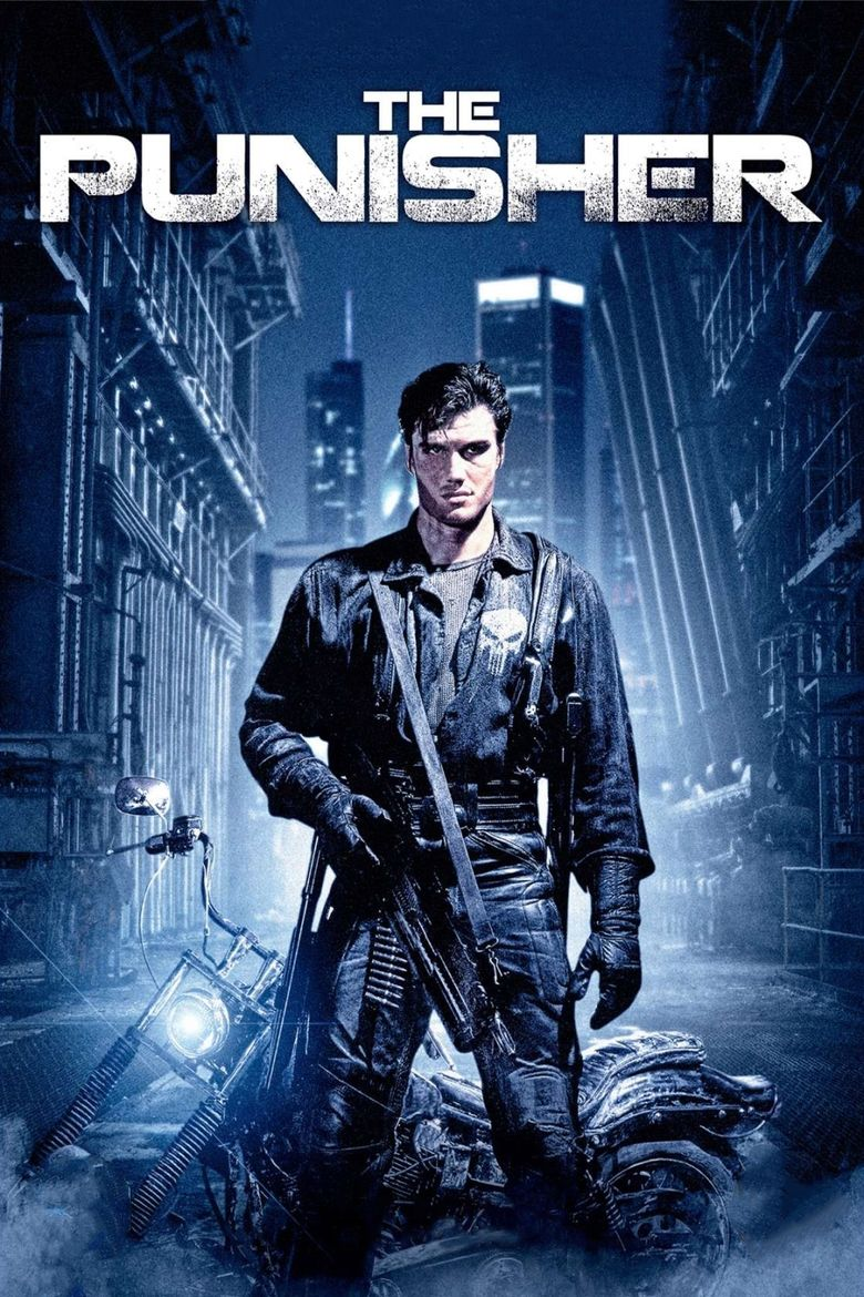 The Punisher (1989 film) movie poster