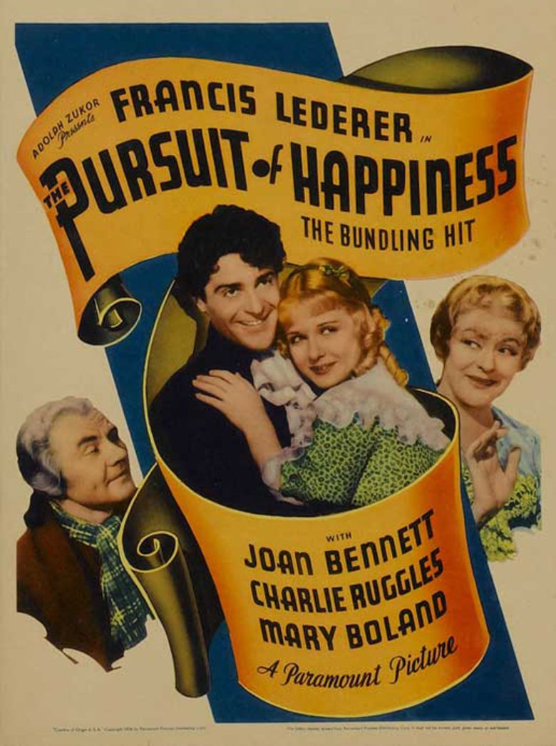 The Pursuit of Happiness (1934 film) movie poster