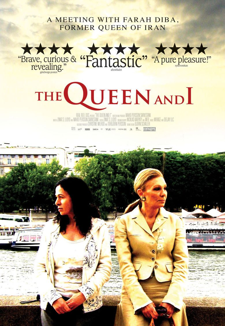 The Queen and I (film) movie poster