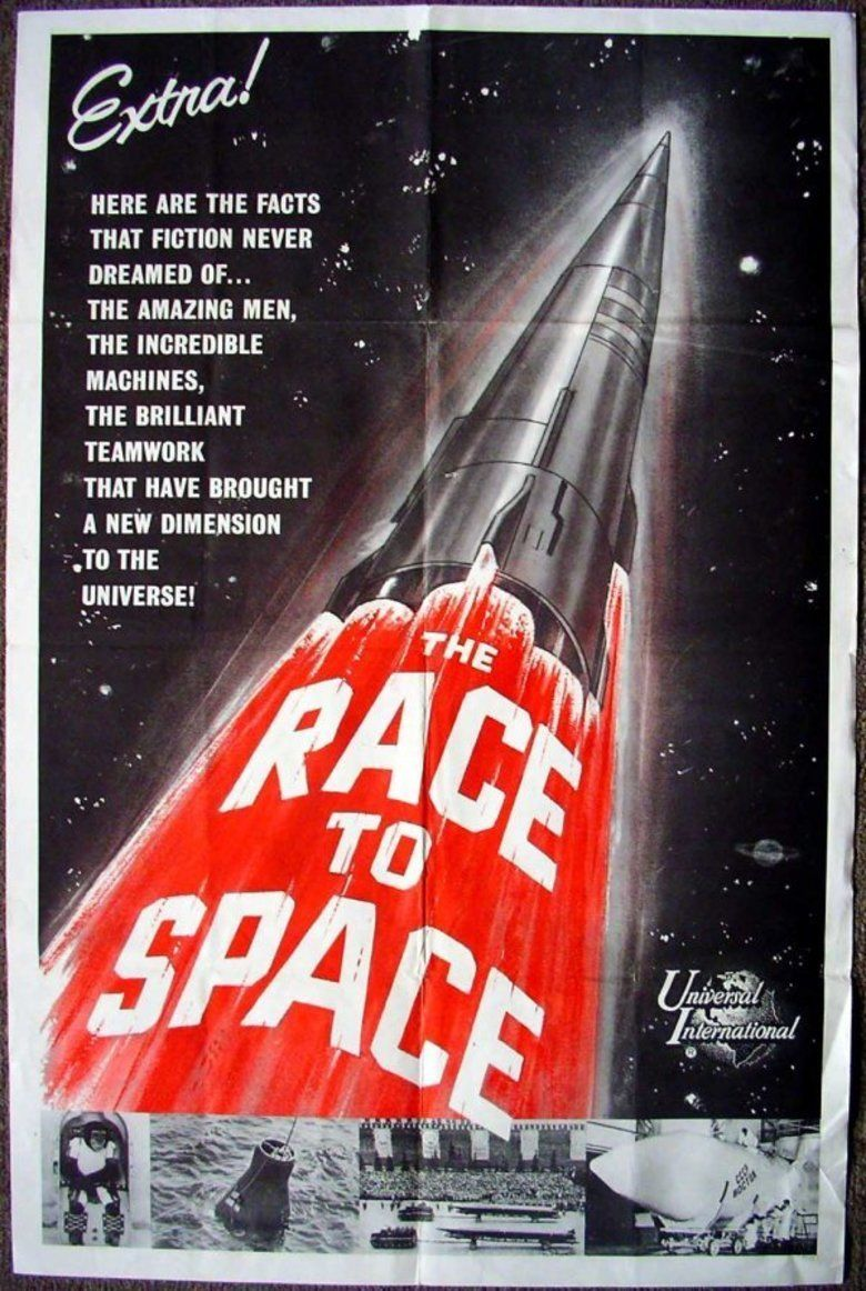 The Race for Space movie poster