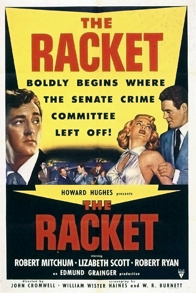 The Racket (1951 film) movie poster