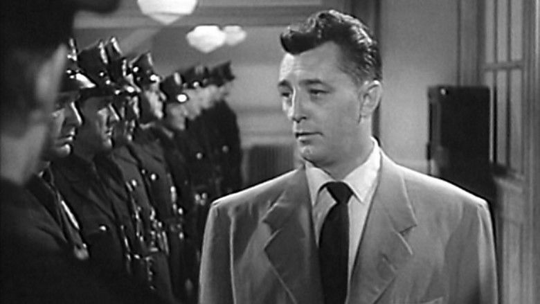 The Racket (1951 film) movie scenes