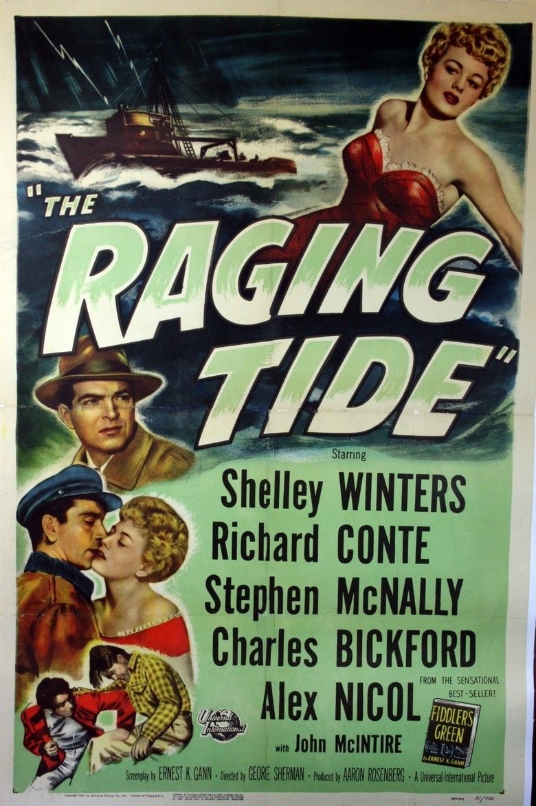 The Raging Tide movie poster
