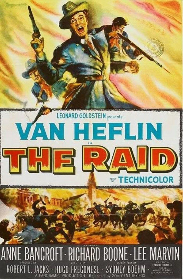 The Raid (1954 film) movie poster