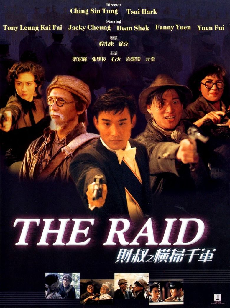 The Raid (1991 film) movie poster
