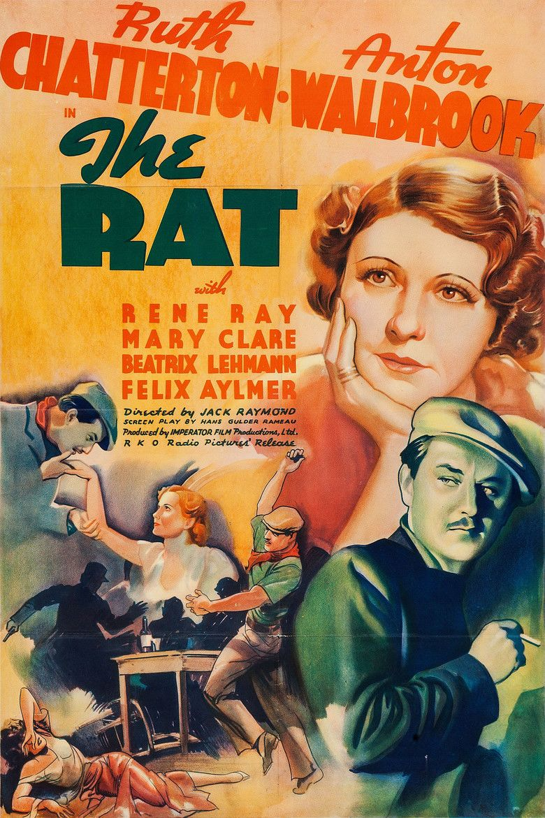 The Rat (1937 film) movie poster