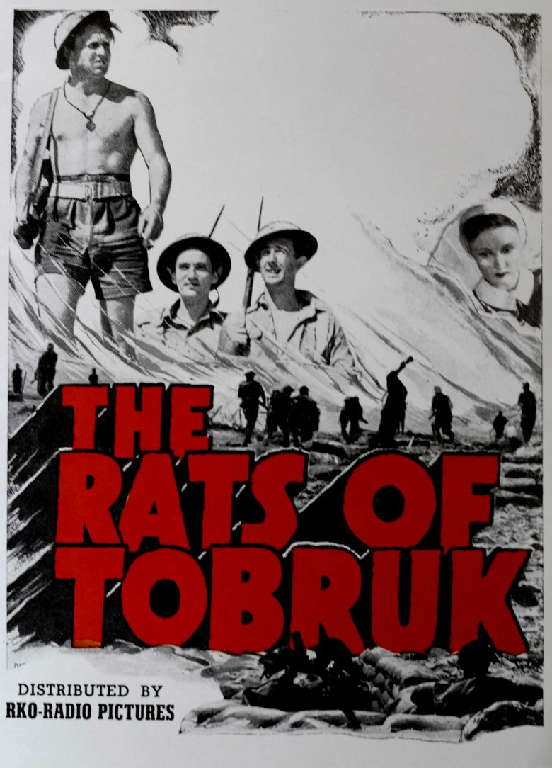 The Rats of Tobruk (1944 film) movie poster
