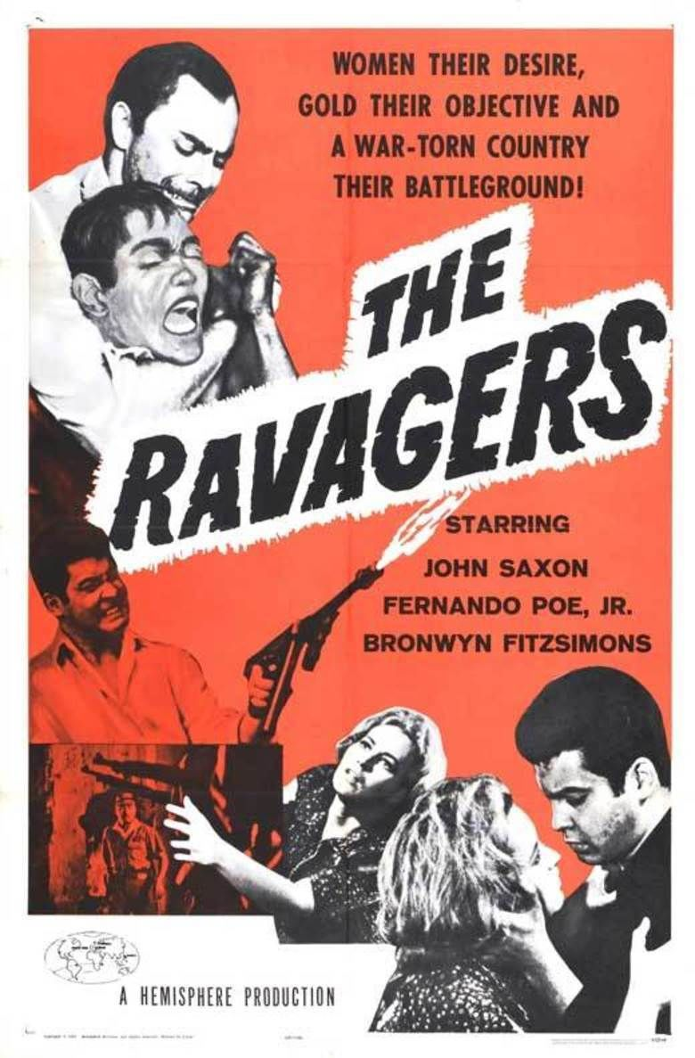 The Ravagers (1965 film) movie poster
