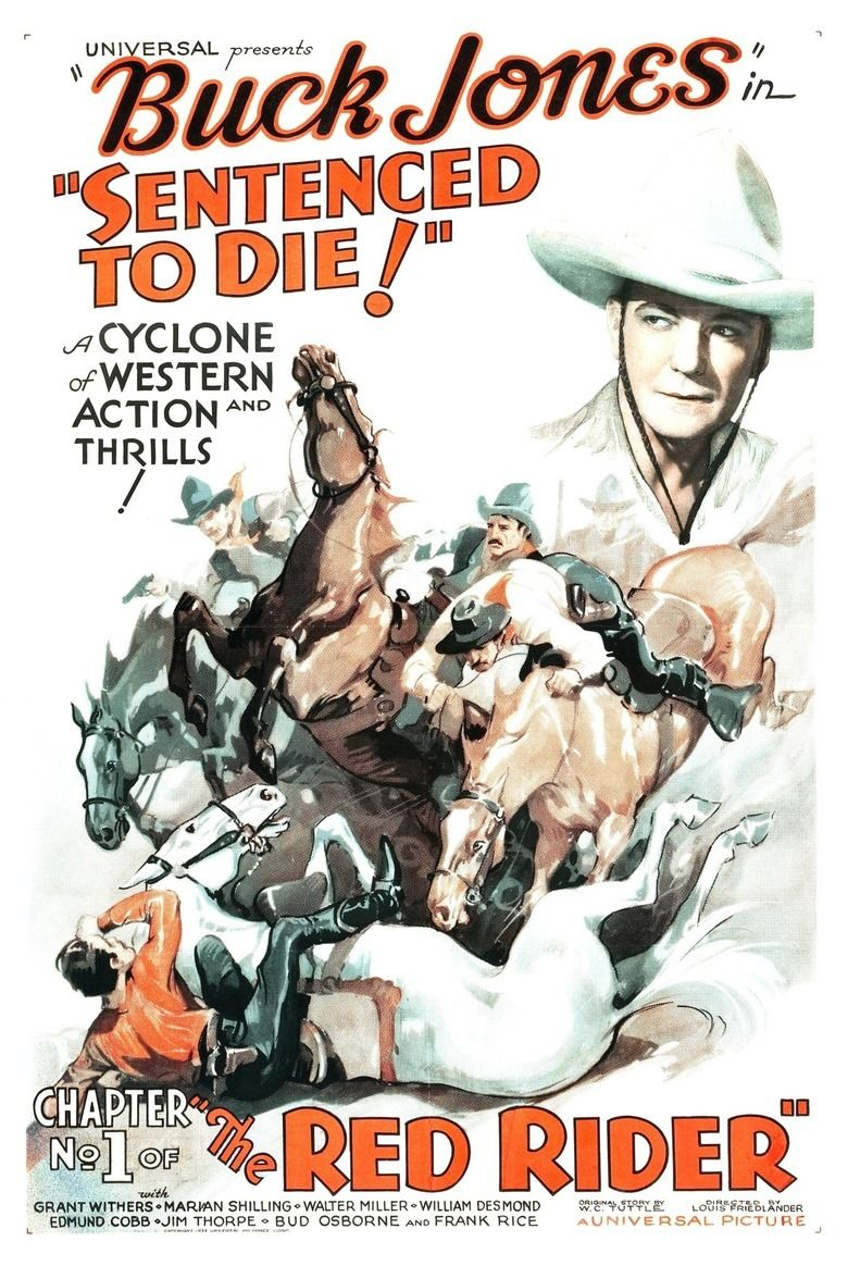 The Red Rider movie poster