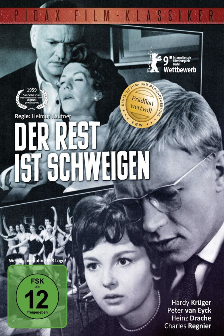 The Rest Is Silence (1959 film) movie poster