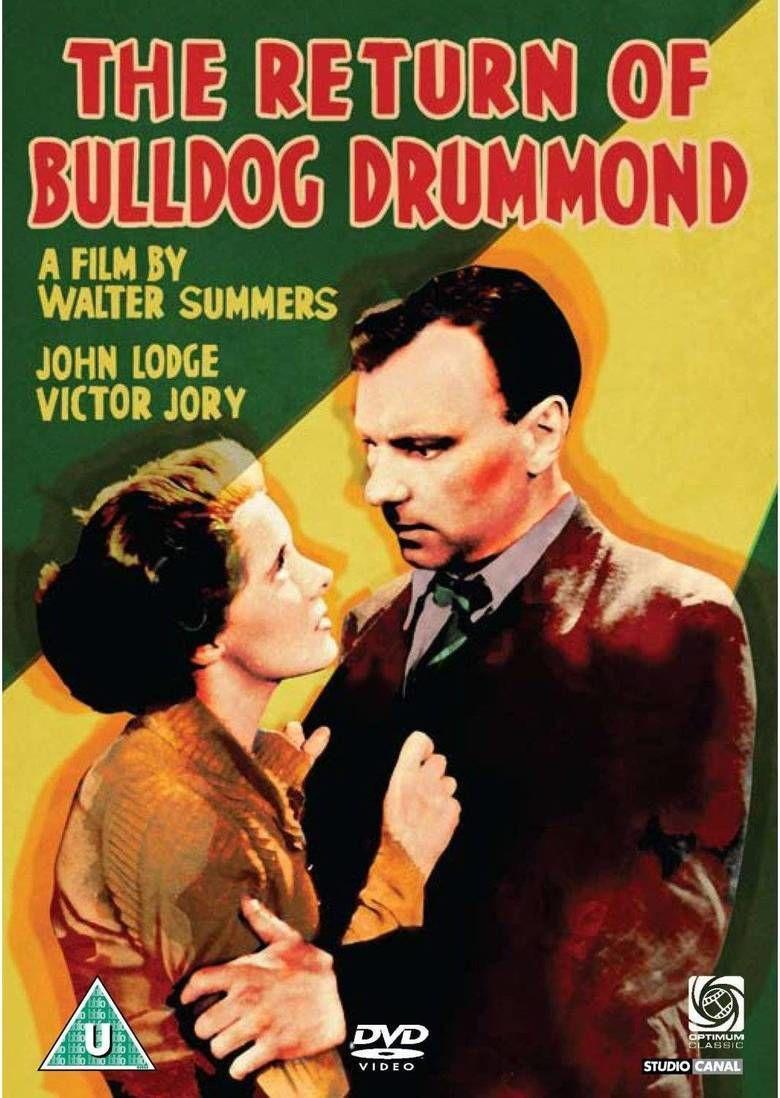 The Return of Bulldog Drummond movie poster