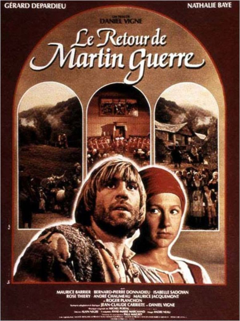 The return of martin guerre movie poster