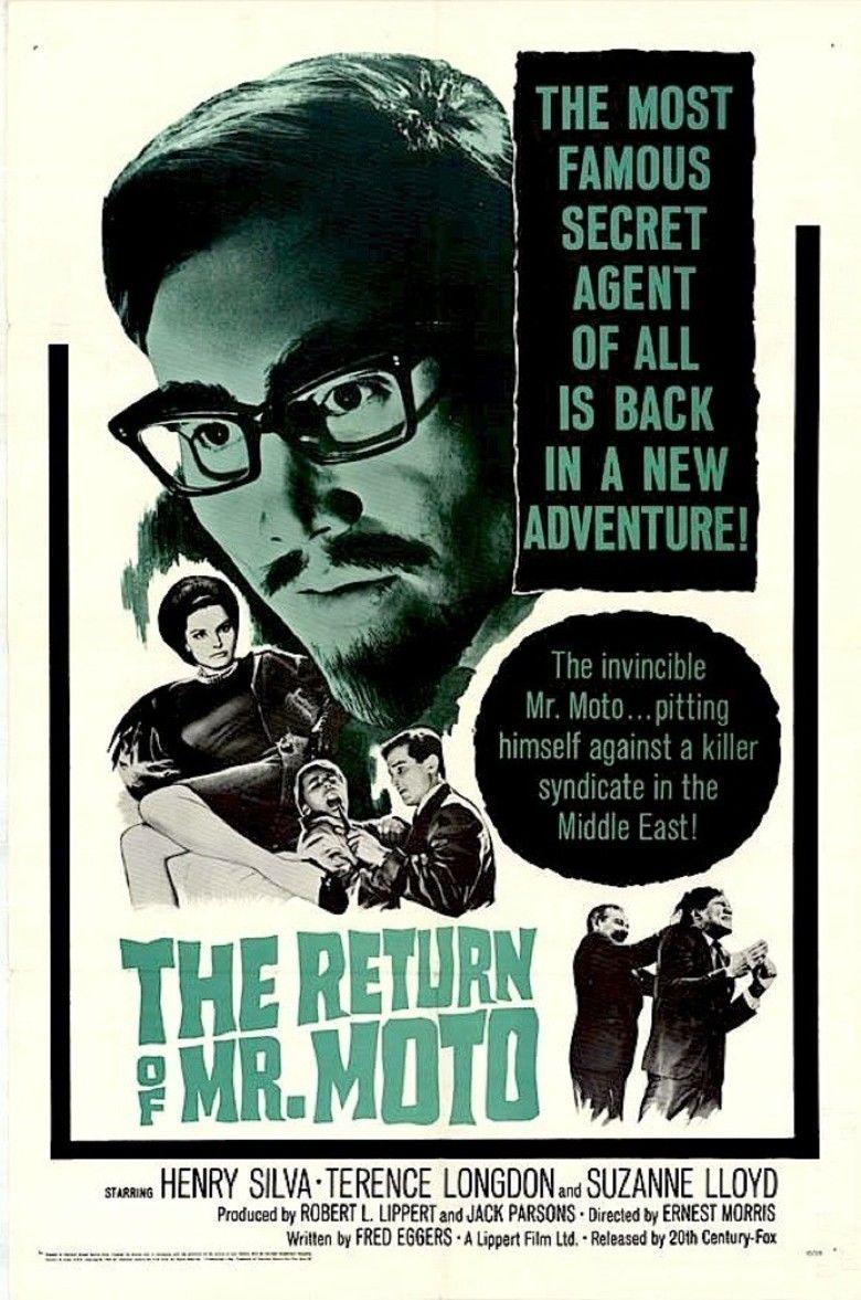 The Return of Mr Moto movie poster