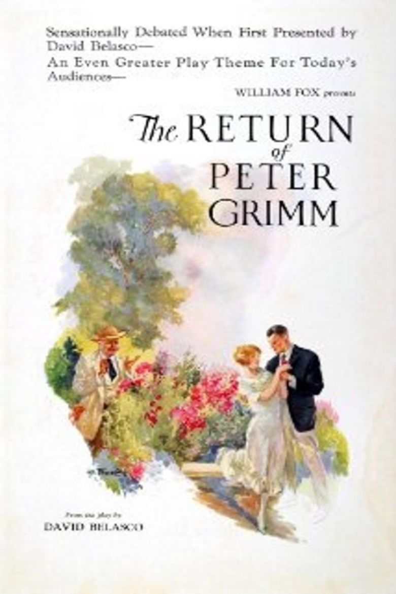 The Return of Peter Grimm (1926 film) movie poster